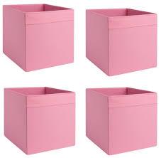 4x dröna ikea fach dunkelrosa box für regal kaufland de