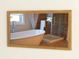 spiegel turin 62 teakholz wandspiegel holzrahmen badezimmer rbk2354 60cm