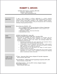 Resume Objective Statement Top Within Basic Sample Career Examples