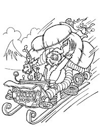 The Grinch Christmas Tree Scene by How The Grinch Stole Christmas Coloring Pages Free Printables To