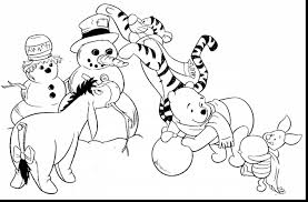 Awesome Disney Winter Coloring Pages Printable With Free And