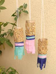 Creative Things To Make From Paper Shabbbat Shira Toilet Tube Bird Feeder