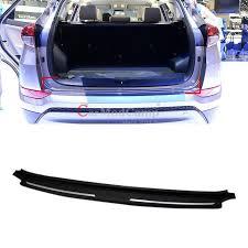 BLACK ABS Plastic Rear Bumper Protector Guard Sill 1pcs For
