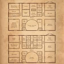 Stunning Castle Floor Plan Castle Floor Plan Shows The Specific