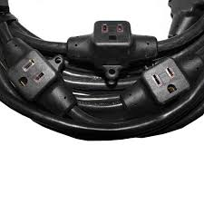 ProX 32 6 Outlet 14 3 Gauge Professional Extension Cord [XC MEP14