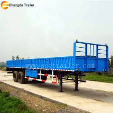100 Weight Of A Semi Truck 126m Cargo S Cargo Nd Flatbed Dual Use Trailer 40ton