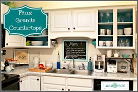 Nuvo Cabinet Paint Video by Faux Granite Countertops With Giani Granite Paint