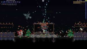 Terraria Pumpkin Moon Arena Ios by Terraria Frost Moon Images Reverse Search
