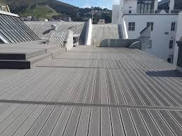 Runnen Floor Decking Outdoor Brown Stained by Outdoor Composite Flooring Eco Friendly Solid Wpc Floor Wpc