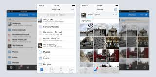 A fresh Dropbox for iPhone & iPad