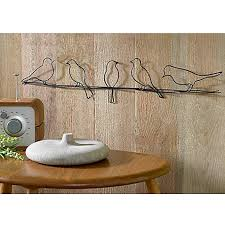 Image Of Bird On A Wire Metal Wall Art