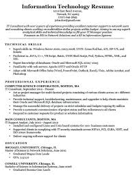 Information Security Resume Sample For Example Technology Download Di