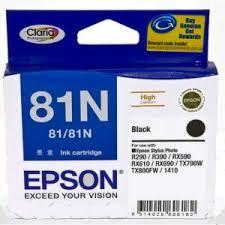 Genuine Epson T1111 81N HY Black Ink Cartridge C13T111192