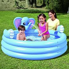 Inflatable Bath For Toddlers by Bestway Elephant Shaped Inflatable Baby Pool Spray Bath Tub