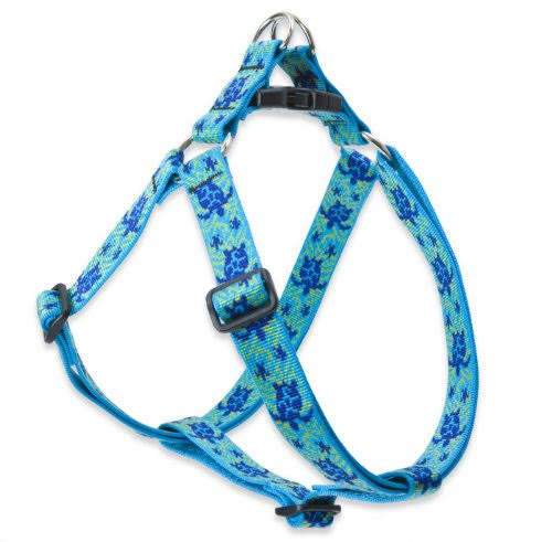 "Lupinepet Turtle Reef Step in Dog Harness - 1"" x 24"" to 38"""