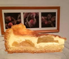 versunkener apfelkuchen mit vanillepudding schmeck den süden