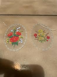 glas wandschmuck dekoration wohnzimmer wandbild wandanhänger