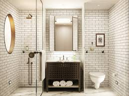 floor to ceiling subway tile bathroom ideas