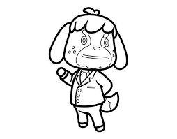Animal Crossing Coloring Pages 1