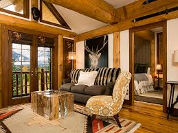 Brown Living Room Decorations by Rustic Living Room Decor Amazing Modern Rustic Living Room