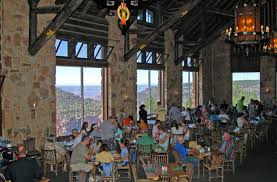 El Tovar Dining Room Lounge by These 10 Restaurants In Arizona Have Jaw Dropping Views While You Eat
