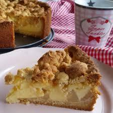 zuckerperlen und zimtgeruch birnen pudding kuchen