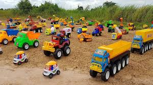 Big Dump Truck Rescue Small Cars Toys For Kids | Excavator Dump ...