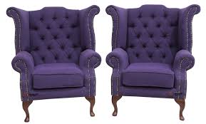 2 X Chesterfield Purple Queen Anne High Back Wing Chairs Verity ... Southern Motion Recliners 1642p Triumph Power High Leg Recliner Leather Chairs In Modern Classic Designs Dfs Seat Covers For Couches Seater Sofa With Console Fabric Bradington Young That Recline Rockwell 8 Way Hand Tied Opulence Home Living Room Ashley Homestore Canada 2 X Chesterfield Purple Queen Anne Back Wing Verity Kids 4 Colours 13900 Artiss Pu Recling Armchair Kidrecliner Shop Regal In House Chair With Controllable 71 Off Natuzzi Italsofa Best Lift Reviews Ratings May 2019