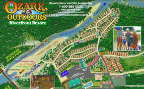 Ozark Outdoors Late night area map