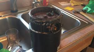 hole in side of garbage disposal youtube