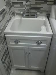 keats 30 in laundry sink with cabinet faucet kit home depot