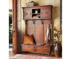 wooden bench or entryway hall tree http burgerjointdc com
