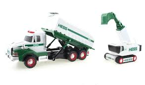 Buy 2017 Hess Dump Truck And Loader   EBay Hess Cporation Wikiwand Rare 2006 Nyse Chrome Mini First Truck New In Box Mint Lights 3 Complete Hess Trucks 2008 Rescue 2005 Cstruction W Toys Values And Descriptions 2016 Toy Dragster All On Sale 1964 With Original Funnel Rare Colctible 2 Editions Of The Helicopter By Year Guide Brand Never Played