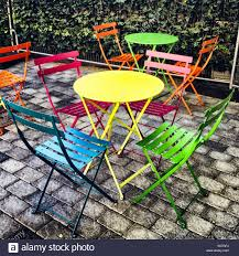 Bright Painted Tables Chairs Stock Photos & Bright Painted ... Bright Painted Tables Chairs Stock Photos Fniture Wikipedia Us 3899 Giantex Portable Outdoor Folding Table Set Camping Beach Pnic With Carrying Bag Op3381gn On Aliexpress Retro Vintage View Of Pastel Cafe Chairstables Chair And Wild 3 Rattan Garden Patio Conservatory Porch Modern And Design Sets Mandaue Foam Outdoors Fold Group Close Alinium Alloy Chairs In Stock Photo Image Greece In Cafe Or Restaurants Outside