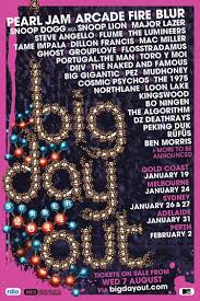 Big Day Out Festival 2014 Poster Design