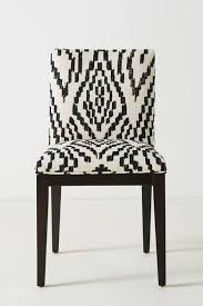 Skruvsta Swivel Chair Idhult White by Emrys Black White Ikat Chair
