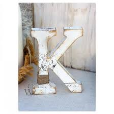 Rustic Wedding Letter Stand Alone