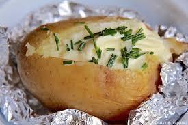 cuisiner la pomme de terre de terre au four