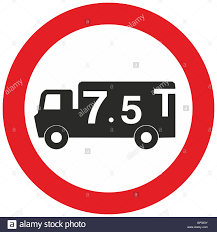Uk Road Sign Weight Limit 7.5T Lorry Truck Hgv Banned Ahead ... Loadexpress Truck Freight Auction And Load Matching Marketplace Mezzanine Floor Weight Load Notices Parrs Workplace Equipment Texas Enacts Legislation To Raise Weight Limits In Houston Uwl Nyc Dot Trucks Commercial Vehicles Chapter 2 Truck Size Limits Review Of State Dots Policies For Overweight Fees Scales Weigh Stations So Many Miles Uk Road Sign Limit 75t Lorry Hgv Banned Ahead Xilin Electric Pallet Seated Type Cbdz Material