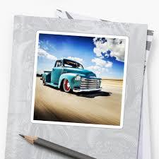 Classic Chevy Truck Pickup Sticker