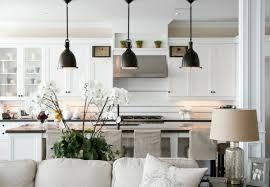 beautiful black pendant lights idea for kitchen white cabinet