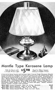 Kerosene Lamp Round Wicks by Montgomery Wards Mantle Lamps