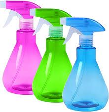 90 s club leere 500 ml sprühflaschen für ätherisches öl wasser küche bad reinigung pflanzenbewässerung lufterfrischung gartenarbeit und