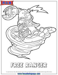 Skylanders Swap Force Air Free Ranger Coloring Page