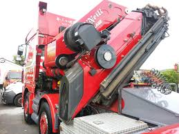 Trucks Mounted Cranes - Heavy Haulage Transport