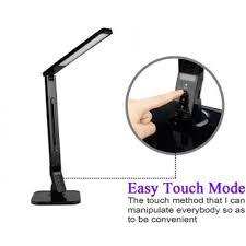 Who Makes Ledu Lamps by Lorell 99772 Smart Led Desk Lamp Led Black Desk Mountable