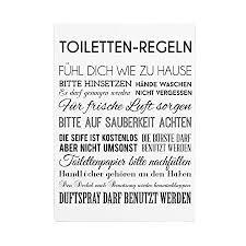 interluxe 42x30cm shabby holzschild toiletten regeln geschenk badezimmer wc lustig