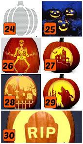 Walking Dead Halloween Stencils by 75 Free Pumpkin Carving Patterns