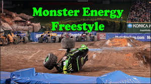 Monster Jam 2017 Monster Energy Freestyle - YouTube Simpleplanes Monster Truck Energy Jam Thor Vs Freestyle From Slash Wrap Hawaii Graphic Design Cheap Find Deals On Line Ballistic Bj Baldwin Recoil 2 Unleashed In Jeep Window Tting All Shade 3m Drink Kentworth Scotla Flickr Girls At Mxgp Leon Traxxas Slash Monster Energy Truck 06791841 Hot Wheels Drink Truck Custom The City Of Grapevines Summe
