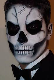 Halloween Half Mask Makeup by 21 Halloween Makeup Ideas For Men Halloween Makeup Makeup Ideas